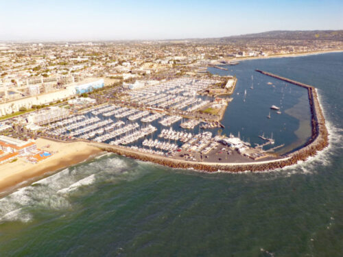 King Harbor from Above