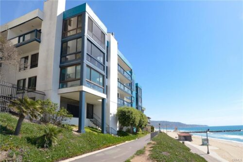 575 Esplanade from the Beach