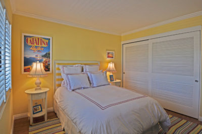 110 The Village guest bedroom